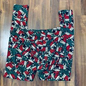 Lularoe Christmas Pugs TC